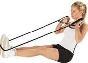 Banda elastica de ejercicio localizado
