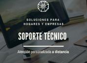 Servicio soporte técnico reparación pc notebook