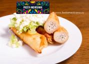 Gastronomía mexicana en uruguay