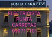 Electricista 099717101 urgencias punta carretas