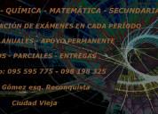 Física - química - matemática - exámenes - cursos