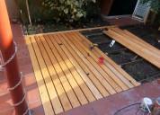 Pisos de madera deck