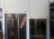 Monoblock : ventana con cortina
