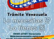 Tramites económicos venezolanos