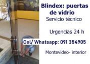 Trabajos de blindex (puertas de vidrios)