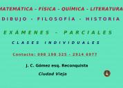 Matematica - literatura - dibujo - física