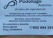 Podólogo en chuy