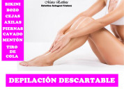 Depilación descartable - roll on  sistema. español