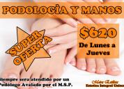 Super oferta podologia y manos