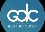 Vendedor de publicidad y plataformas digitales