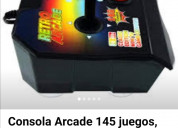 Consola retro arcade 145 juegos