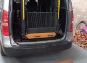Rampa hidràulica para silla de ruedas