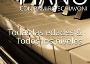 Clases de piano - presencial & online