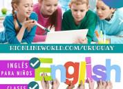 Inglés online niños, adultos exámenes