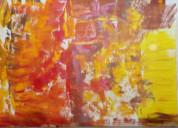 Artista plástica en arte abstracto