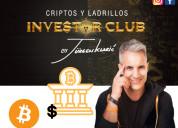 Curso investor club: criptos y ladrillos de jurgen