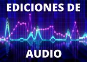 Ediciones de audio profesionales