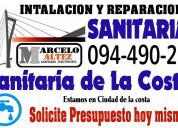 Sanitario, reparaciones obras mantenimiento